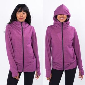 Betabrand Knockout Travel Hoodie, Size Large